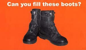 recruitment, can you feel these boots